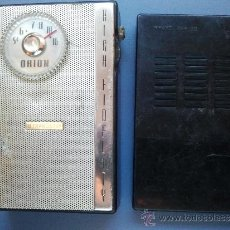 Radios antiguas: RADIO TRANSISTOR ORION ANTIGUA. Lote 35123557