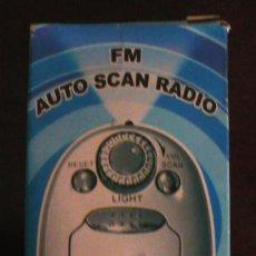 Radios antiguas: FM AUTO SCAN RADIO. Lote 35432224