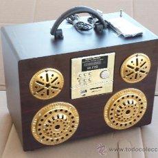 Radios antiguas: RADIO REPRODUCTOR M.P.3. TARJETA S.D. Y USB PORTATIL CCON MANDO A DISTANCIA SE CARGA A TRAVES DEL US. Lote 35559521