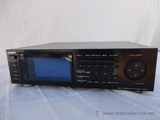 SONY SDP-D 905 EQUALIZADOR DIGITAL SURROUND PROCESSOR ALTA GAMA (Radios, Gramófonos, Grabadoras y Otros - Transistores, Pick-ups y Otros)