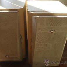 Radios antiguas: PAREJA ALTAVOCES VINTAGE JVG MODELO SP-UXP5 TECNOLOGÍA JAPONESA. Lote 35704720