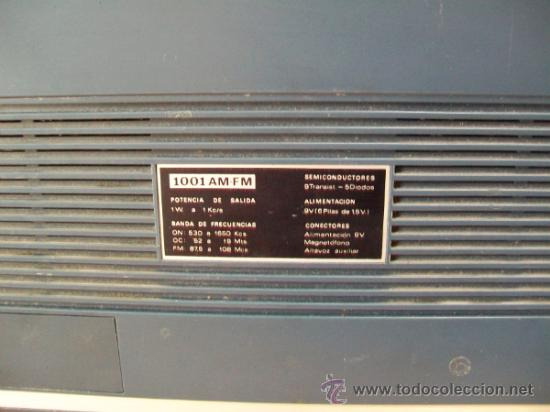 Radios antiguas: Radio Transistor KÖNIGER. - Foto 3 - 35804674