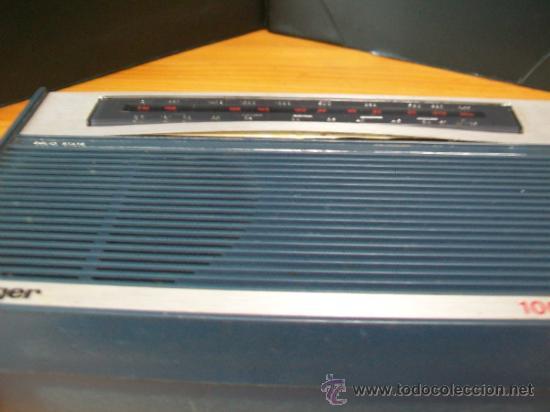 Radios antiguas: Radio Transistor KÖNIGER. - Foto 7 - 35804674