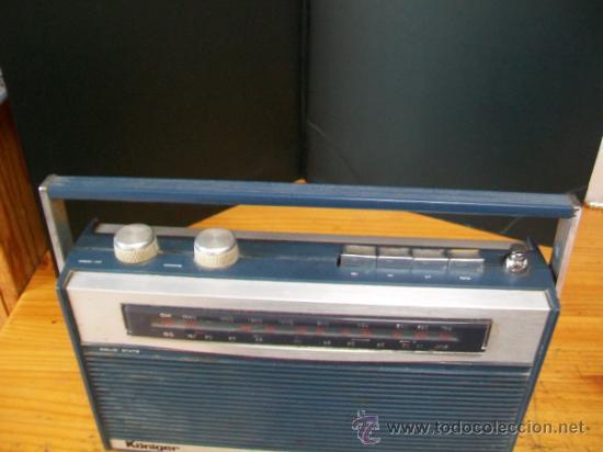 Radios antiguas: Radio Transistor KÖNIGER. - Foto 9 - 35804674