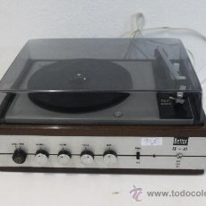 Radios antiguas - Tocadiscos BETTOR EF-41 DUAL 410. - 118347630