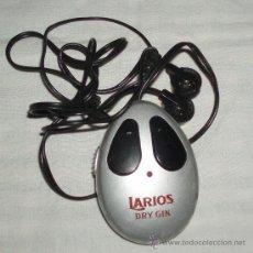 Radios antiguas: RADIO PEQUEÑA PUBLICIDAD LARIOS. Lote 35939762