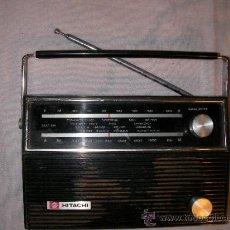 Radios antiguas: ANTIGUA RADIO TRANSISTOR HITACHI EN DE FUNCIONAMIENTO. Lote 36263206
