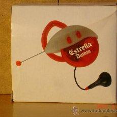 Radios antiguas: RADIO FM AUTOSCAN PUBLICITARIA DE ESTRELLA DAMM (FUNCIONA) - EN SU CAJA. Lote 36420892
