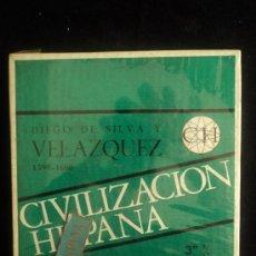 Radios antiguas: CINTA 3' 1/4 CIVILIZCION HISPANA. VELAZQUEZ. PRECINTADA. Lote 36472212