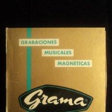 Radios antiguas: CINTA GRAMA. GRABACIONES MUSICALES MAGNETICAS. VELOC.19 CM. STEREO. Lote 36472330