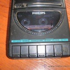 Radios antiguas: MAGNETOFONO REPRODUCTOR CASSETTES PHILIPS. Lote 36541462