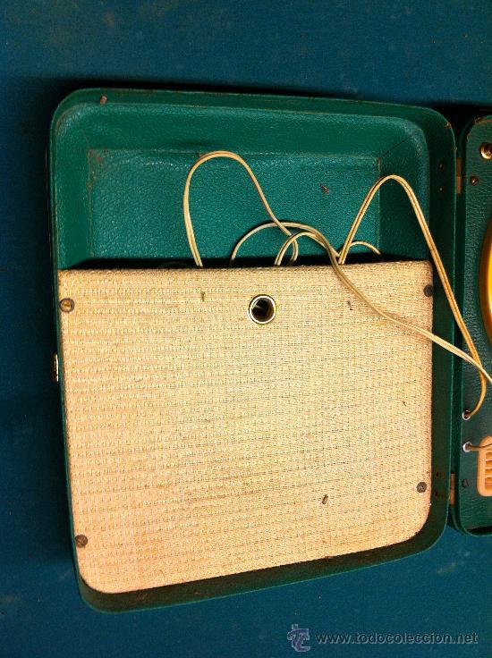 Radios antiguas: MALETA TOCADISCOS PORTATIL - Foto 6 - 36623038