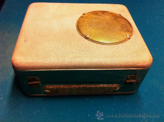 Radios antiguas: MALETA TOCADISCOS PORTATIL - Foto 4 - 36623038
