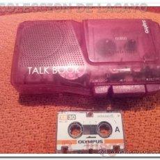 Radios antiguas: MINI GRABADORA DE VOZ PORTATIL SANYO 35 CM APROX DE MINI CASETE TALK BOOK. Lote 36669336