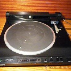 Radios antiguas: PLATO TANGENCIAL SONY PS-X555ES. Lote 45856993