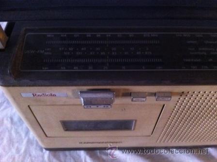 Radios antiguas: RADIO CASETTE RADIOLA - Foto 2 - 36955851