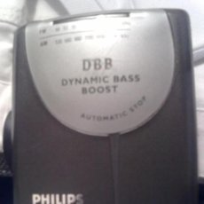 Radios antiguas: RADIO CASSETTE PHILIPS AQ6560. Lote 37056608