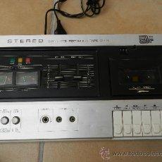 Radios antiguas: CASSETE GRABADOR REPRODUCTOR TAPE DECK ( CINTA CUBIERTA) A.R. SYSTEMS MODELO NR-5401 AÑOS 70. Lote 37141187