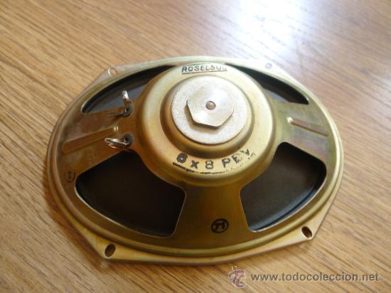 ANTIGUO ALTAVOZ ROSELSON EN . 21 CMS X15,50 CMS (Radios, Gramófonos, Grabadoras y Otros - Transistores, Pick-ups y Otros)