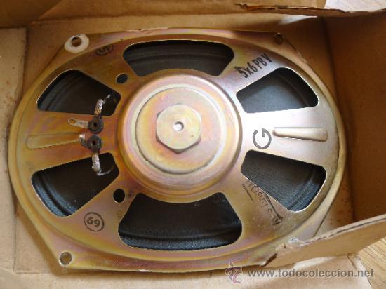 ANTIGUO ALTAVOZ EN SU CAJA ORIGINAL ROSELSON (Radios, Gramófonos, Grabadoras y Otros - Transistores, Pick-ups y Otros)