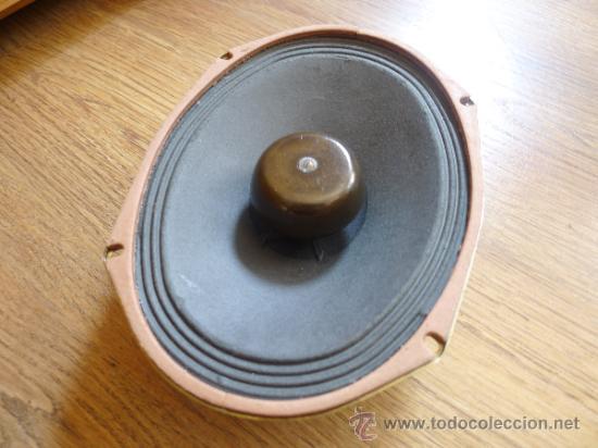 Radios antiguas: Antiguo altavoz Roselson en . 21 cms x15,50 cms - Foto 3 - 37202714
