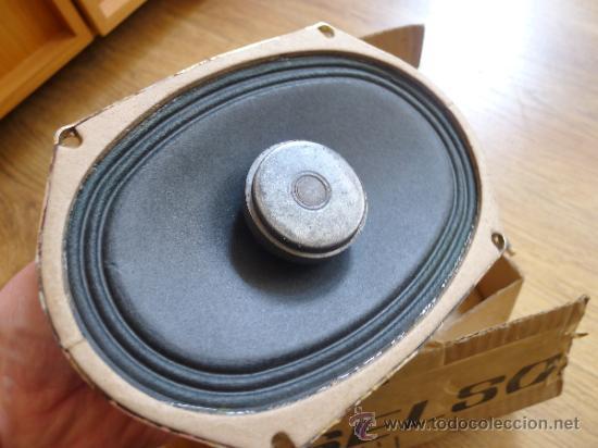 Radios antiguas: Antiguo altavoz en su caja original Roselson - Foto 2 - 37202798