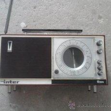 Radios antiguas: RADIO ANTIGUO DE TRANSISTORES. Lote 37211938