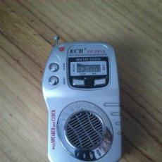 Radios antiguas: PEQUEÑA RADIO TRANSISTOR FUNCIONA BIEN.. Lote 37218693