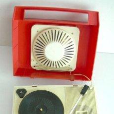 Radios antiguas: ANTIGUO RADIO TOCADISCOS JAPONÉS, MARCA TAYA, AÑOS 60, FUNCIONANDO. Lote 37306904
