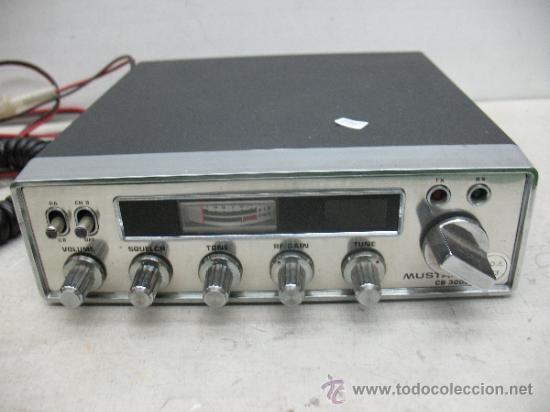 Radios antiguas: Mustang CB 3000 - Radio emisora - Foto 2 - 37308251
