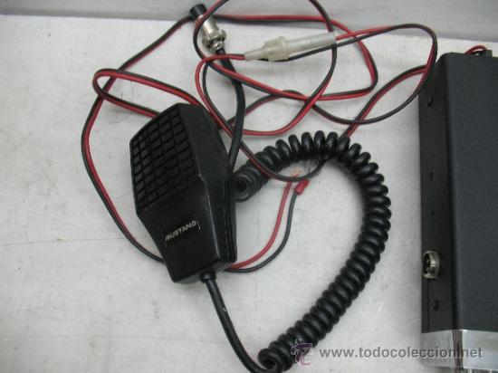 Radios antiguas: Mustang CB 3000 - Radio emisora - Foto 5 - 37308251