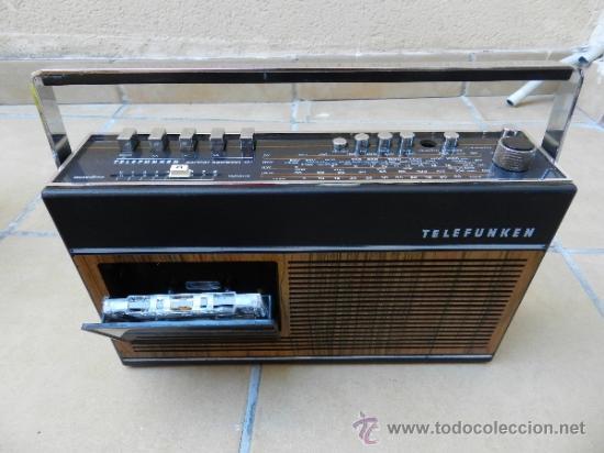 RADIO CASSETTE TELEFUNKEN PARTNER COMPACT 101 (Radios, Gramófonos, Grabadoras y Otros - Transistores, Pick-ups y Otros)