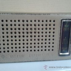 Radios antiguas: RADIO TRANSISTOR HITACHI 6 CON SU FUNDA. FUNCIONA. Lote 37728439
