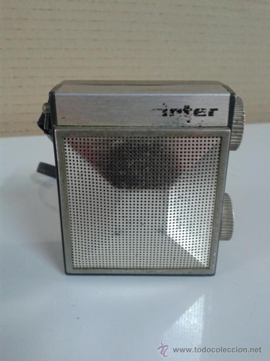 RADIO TRANSISTOR INTER. FABRICADO EN ESPAÑA. LEER MAS (Radios, Gramófonos, Grabadoras y Otros - Transistores, Pick-ups y Otros)