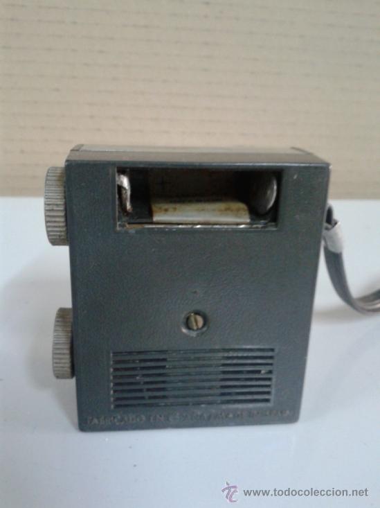 Radios antiguas: RADIO TRANSISTOR INTER. FABRICADO EN ESPAÑA. LEER MAS - Foto 3 - 37731720