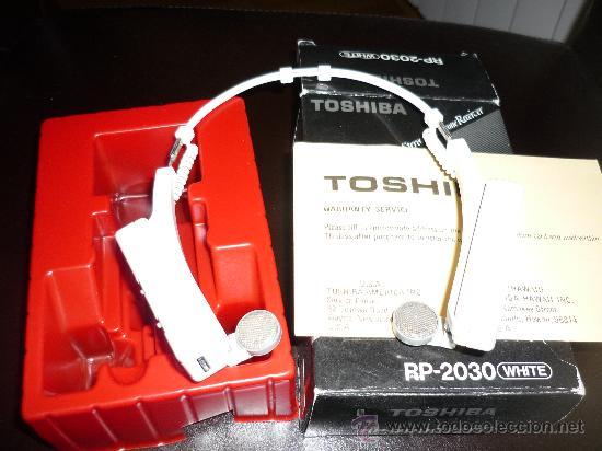 Radios antiguas: JOYA CASCOS - NO WALKMAN- TOSHIBA RP 2030 WHITE CON CAJA AÑOS 80 FUNCIONANDO - Foto 5 - 168904648