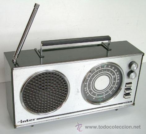 RADIO DE LA MARCA INTER, EUROMODUL-118, FUNCIONANDO (Radios, Gramófonos, Grabadoras y Otros - Transistores, Pick-ups y Otros)