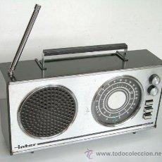 Radios antiguas: RADIO DE LA MARCA INTER, EUROMODUL-118, FUNCIONANDO. Lote 37794202
