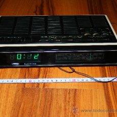 Radios antiguas: RADIO DESPERTADOR DE SOBREMESA MBO 1600 ELECTRONIC FUNCIONANDO LEER DESCRIPCION . Lote 37926701