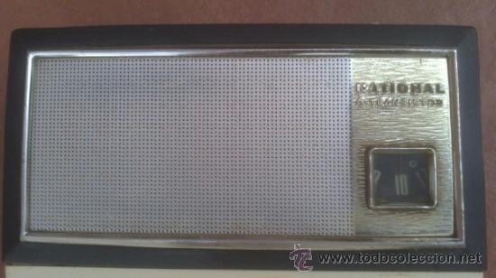 Radios antiguas: TRANSISTOR NATIONAL 6 TRANSISTOR.T-50 - Foto 2 - 38222965