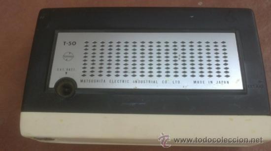 Radios antiguas: TRANSISTOR NATIONAL 6 TRANSISTOR.T-50 - Foto 3 - 38222965