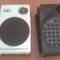 Radios antiguas: TRANSISTOR AIWA AR-777. Lote 38199740