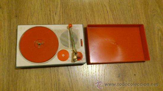 Radios antiguas: Antiguo tocadiscos de juguete para restaurar y reparar funcionaba a pilas - Foto 3 - 38505543