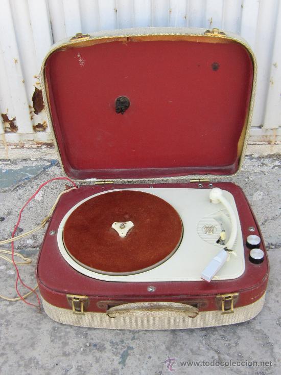 TOCADISCOS RADIOLA (Radios, Gramófonos, Grabadoras y Otros - Transistores, Pick-ups y Otros)
