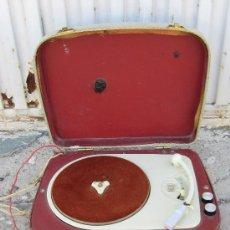 Radios antiguas: TOCADISCOS RADIOLA. Lote 38623663