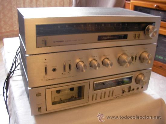 SINTONIZADOR PIONNER STEREO TUNER MODELTX 410 (Radios, Gramófonos, Grabadoras y Otros - Transistores, Pick-ups y Otros)