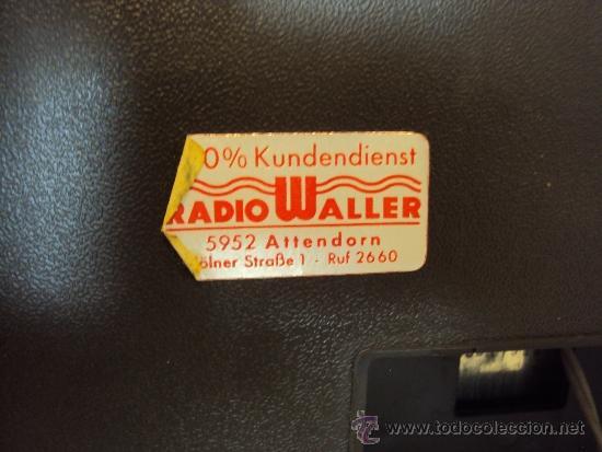 Radios antiguas: TELEFUNKEN ALEMAN ULTIMO PRECIO - Foto 5 - 38701134
