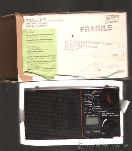 TRANSISTOR RELOJ * TIME * (Radios, Gramófonos, Grabadoras y Otros - Transistores, Pick-ups y Otros)