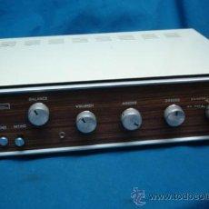Radios antiguas: ANTÍGUO AMPLIFICADOR MARCA AMPLISON 10A DE LOS AÑOS 60/70. Lote 38715551