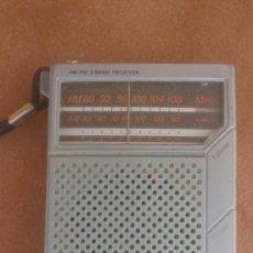 Radios antiguas: ANTIGUO TRANSISTOR SANYO..AM-FM.FUNCIONA.. Lote 39048654